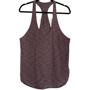 Lululemon Purple Tank Racer back size 10
